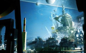 Science-Fiction - Großstadt Wallpapers and Backgrounds ID : 438318