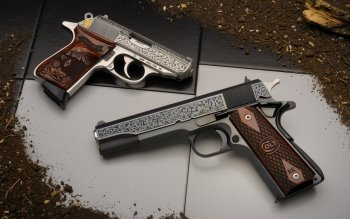 Weapons - Colt Pistol Wallpapers and Backgrounds ID : 439676