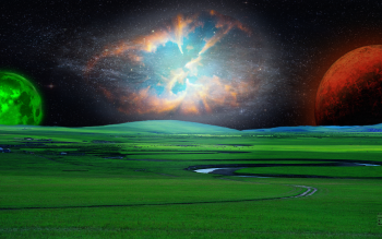 Science-Fiction - Landschaft Wallpapers and Backgrounds ID : 439703