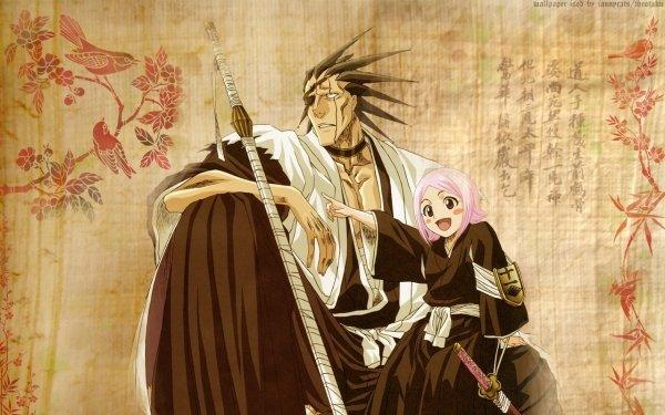 Anime Bleach Kenpachi Zaraki Yachiru Kusajishi HD Wallpaper | Background Image