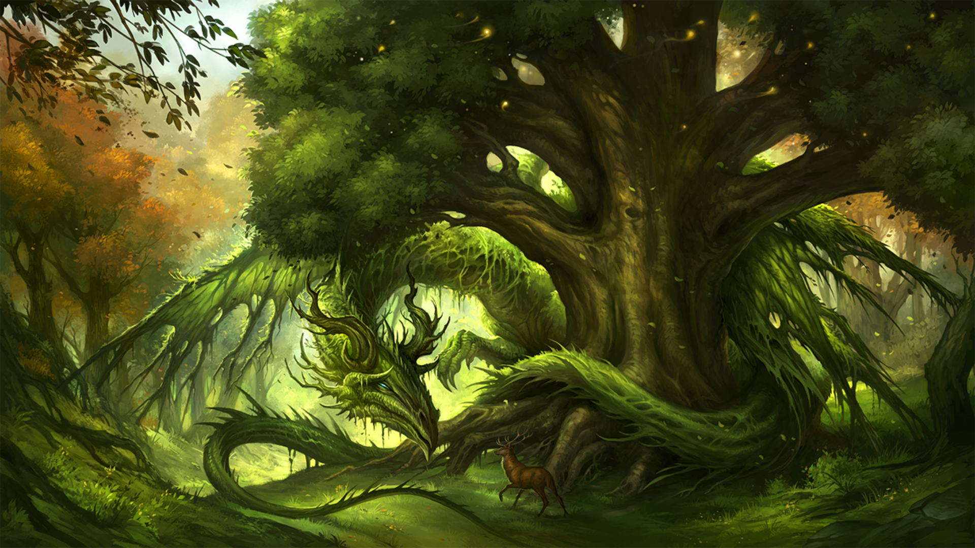 Guardian Of The Forest Full HD Wallpaper And Background Image