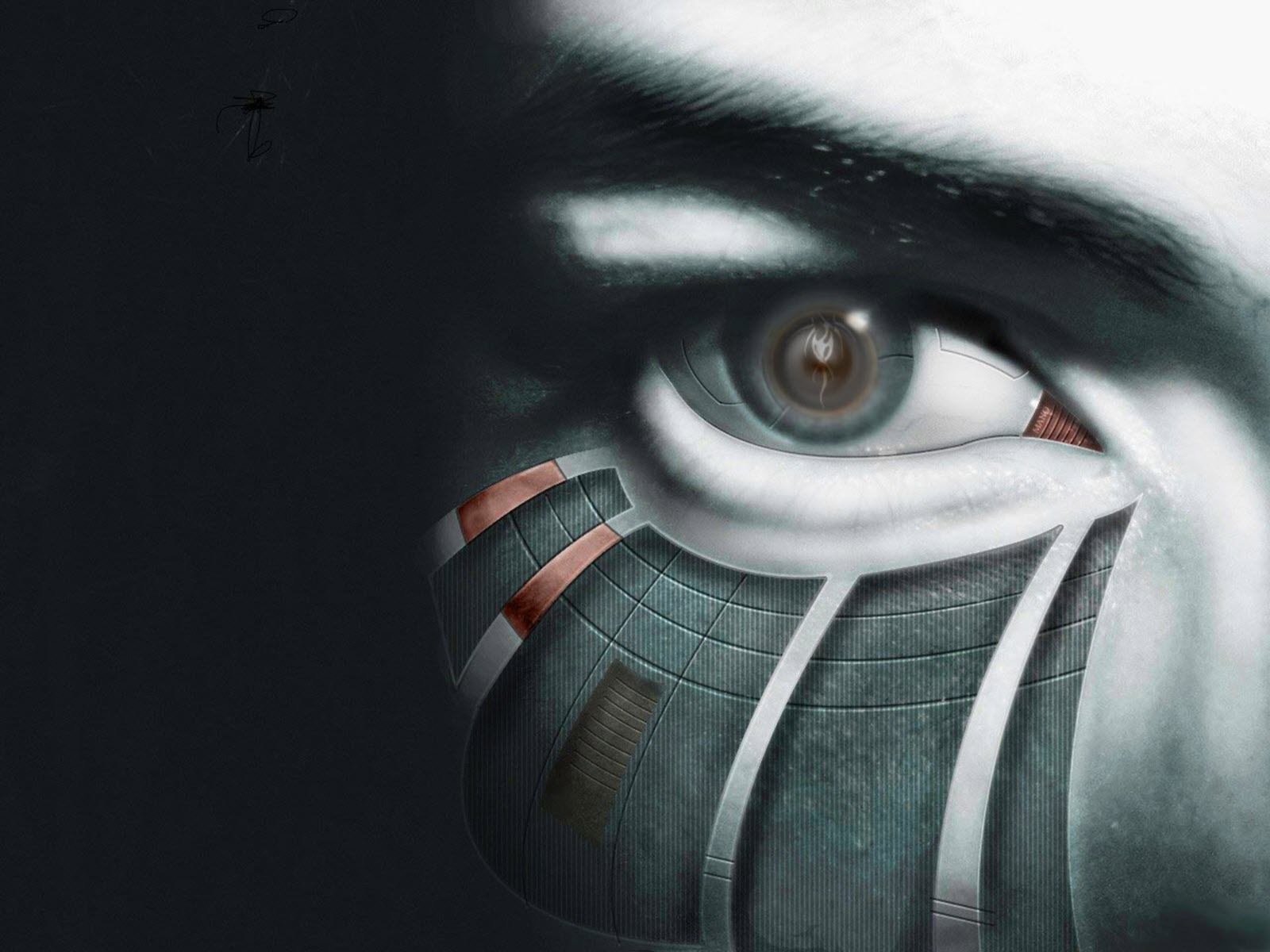 Sci Fi - Cyborg  Eye Robot Wallpaper