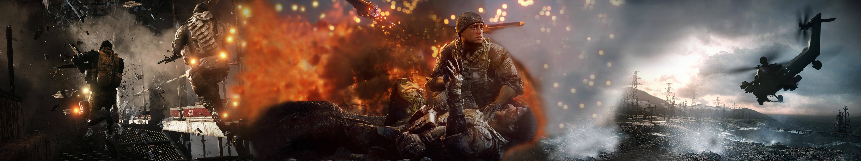 Battlefield 4 Hd Wallpaper Background Image 5760x1080