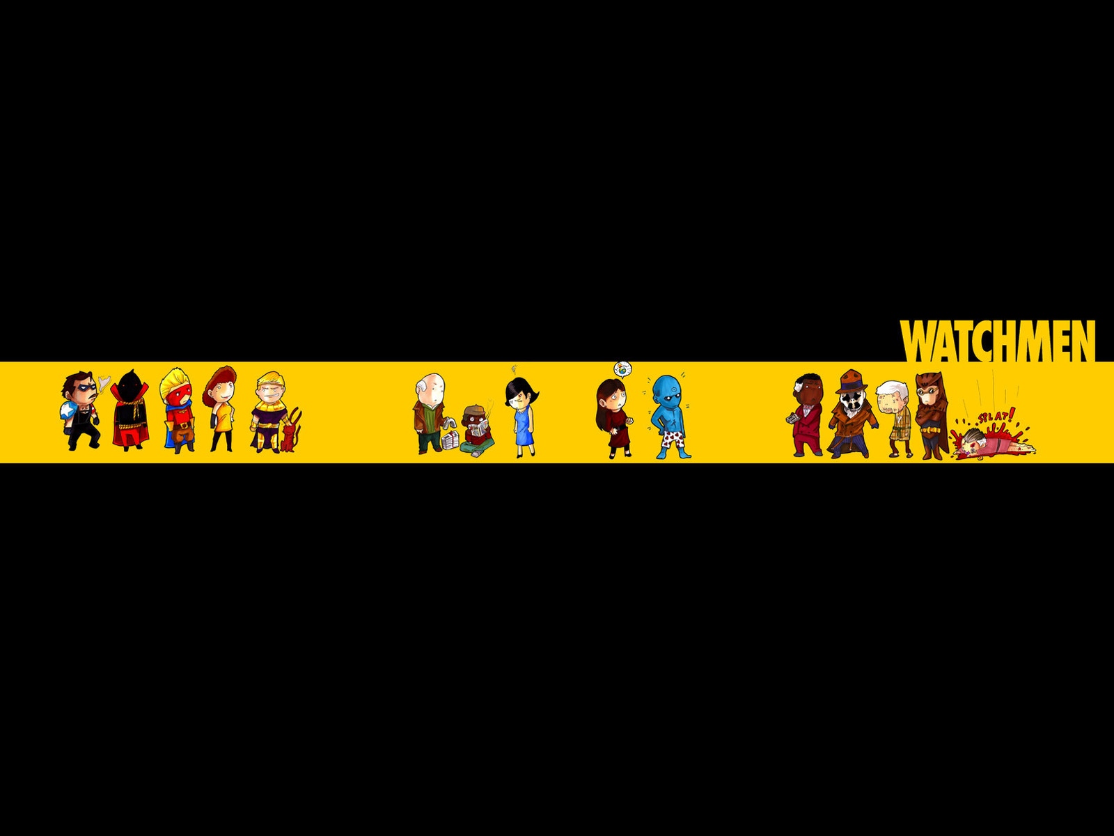 watchmen wallpaper and background image | 1600x1200 | id:443934
