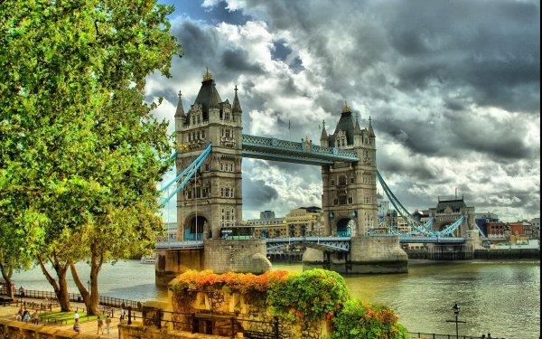 Man Made Tower Bridge Bridges Bridge London HD Wallpaper   Background Image