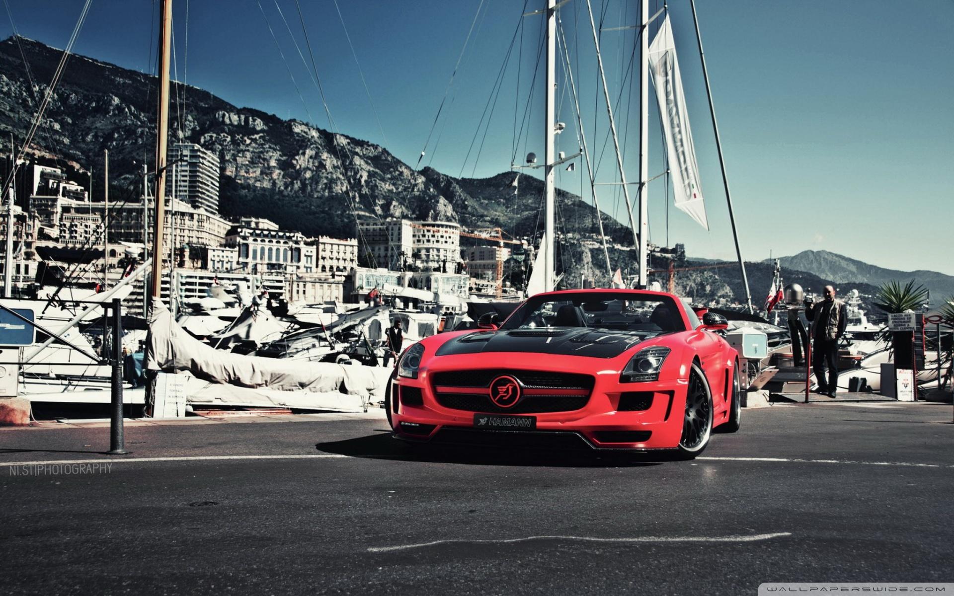 Mercedes Benz Sls Amg Hd Wallpaper Background Image 1920x1200