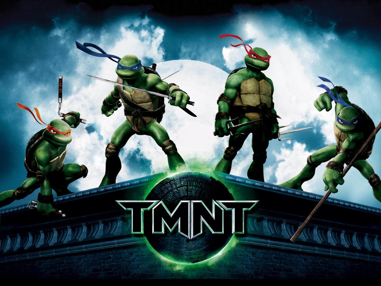 Cartoon - TMNT  Michelangelo Leonardo (TMNT) Donatello (TMNT) Raphael (TMNT) Wallpaper