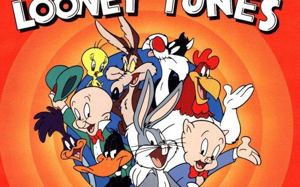 TV Show Looney Tunes Bugs Bunny Porky Pig Daffy Duck Elmer Fudd Sylvester Tweety Road Runner Foghorn HD Wallpaper | Background Image