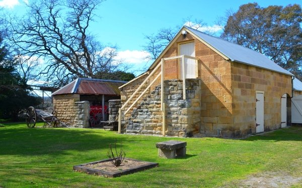 Man Made Eskbank House House Building Lithgow Branch Cart Australia HD Wallpaper | Background Image
