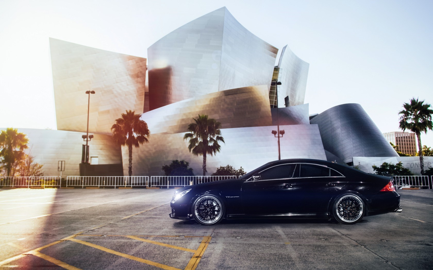 1 Mercedes Benz Cls 55 Amg Hd Wallpapers Backgrounds Wallpaper Abyss