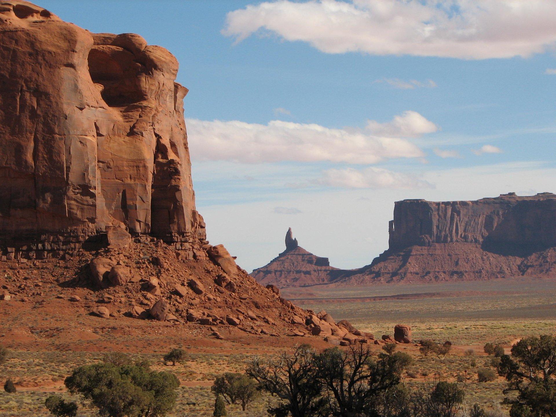 Monument Valley, Arizona-Utah State Line HD Wallpaper