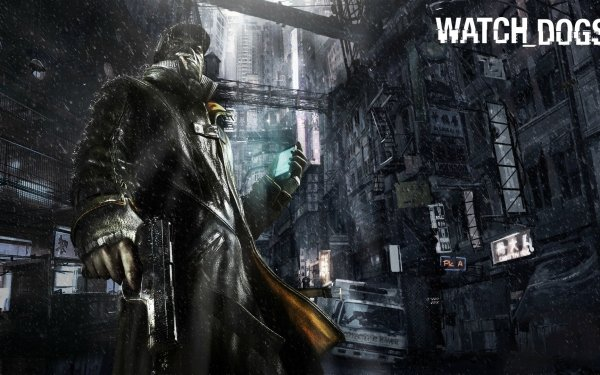 Video Game Watch Dogs Aiden Pearce HD Wallpaper   Background Image