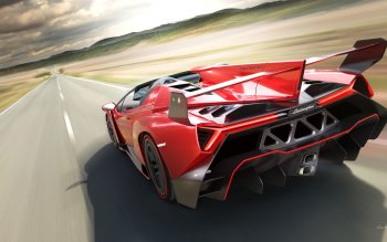 Vehicles - 2014 Lamborghini Veneno Roadster Wallpapers and Backgrounds ID : 449984