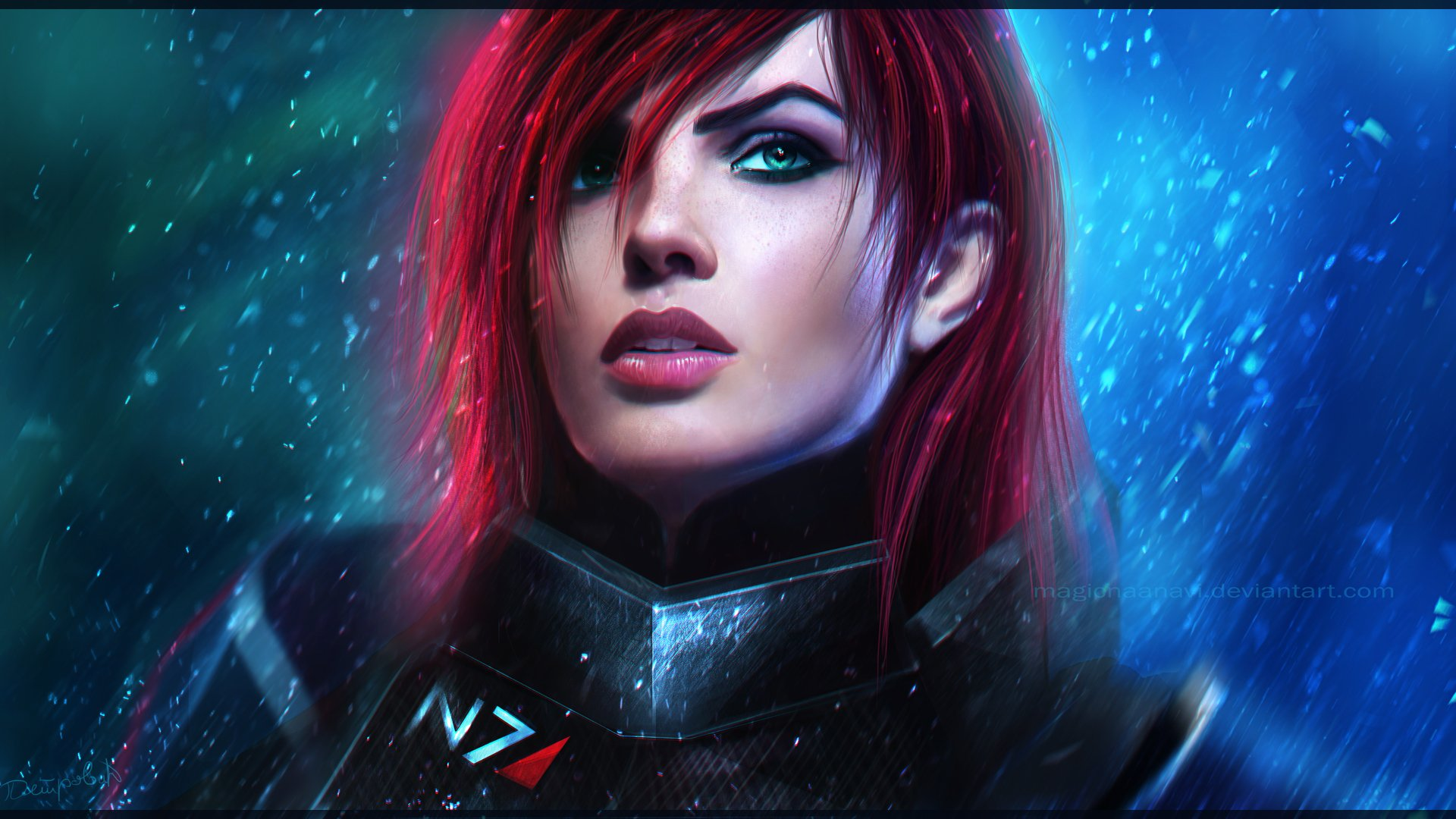 Female Shepard Hd Wallpaper Background Image 1920x1080 Id