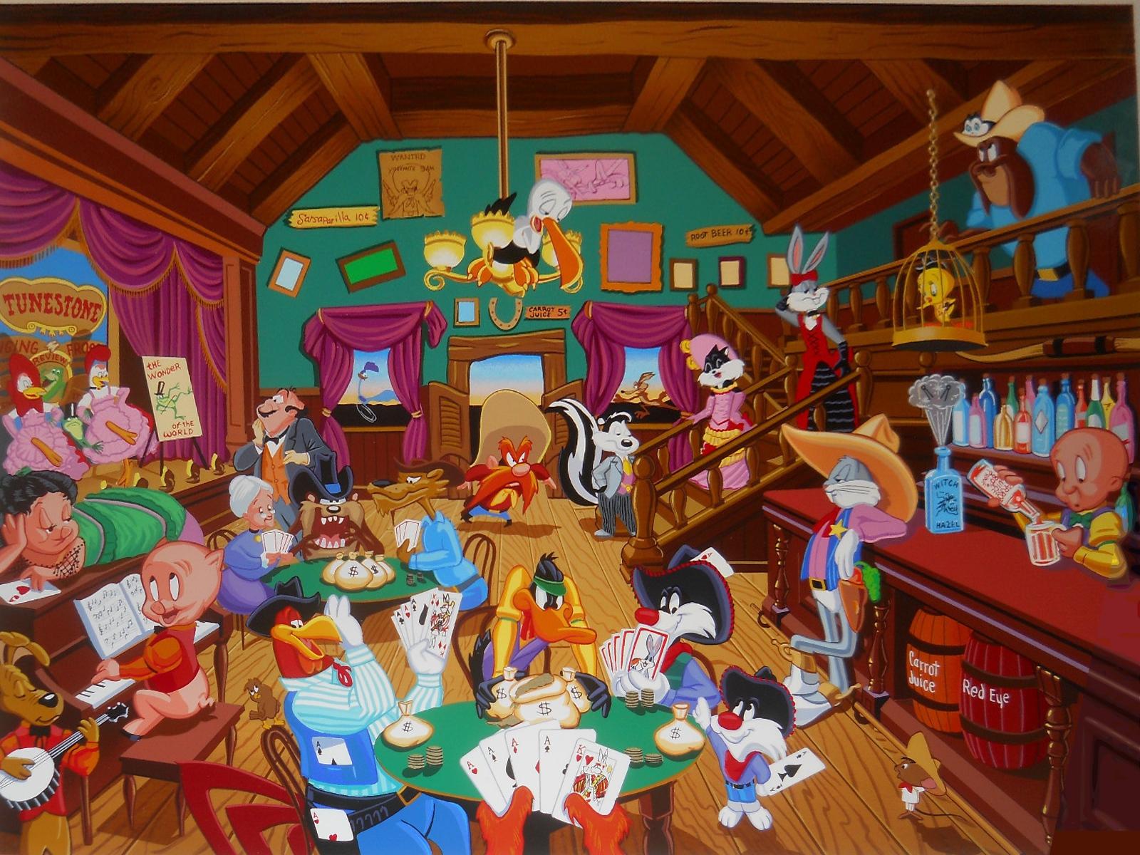 Looney Tunes Saloon Computer Wallpapers Desktop