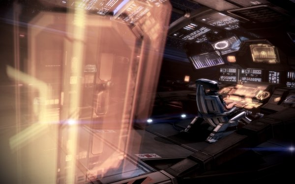 Video Game Mass Effect Normandy SR-2 HD Wallpaper   Background Image