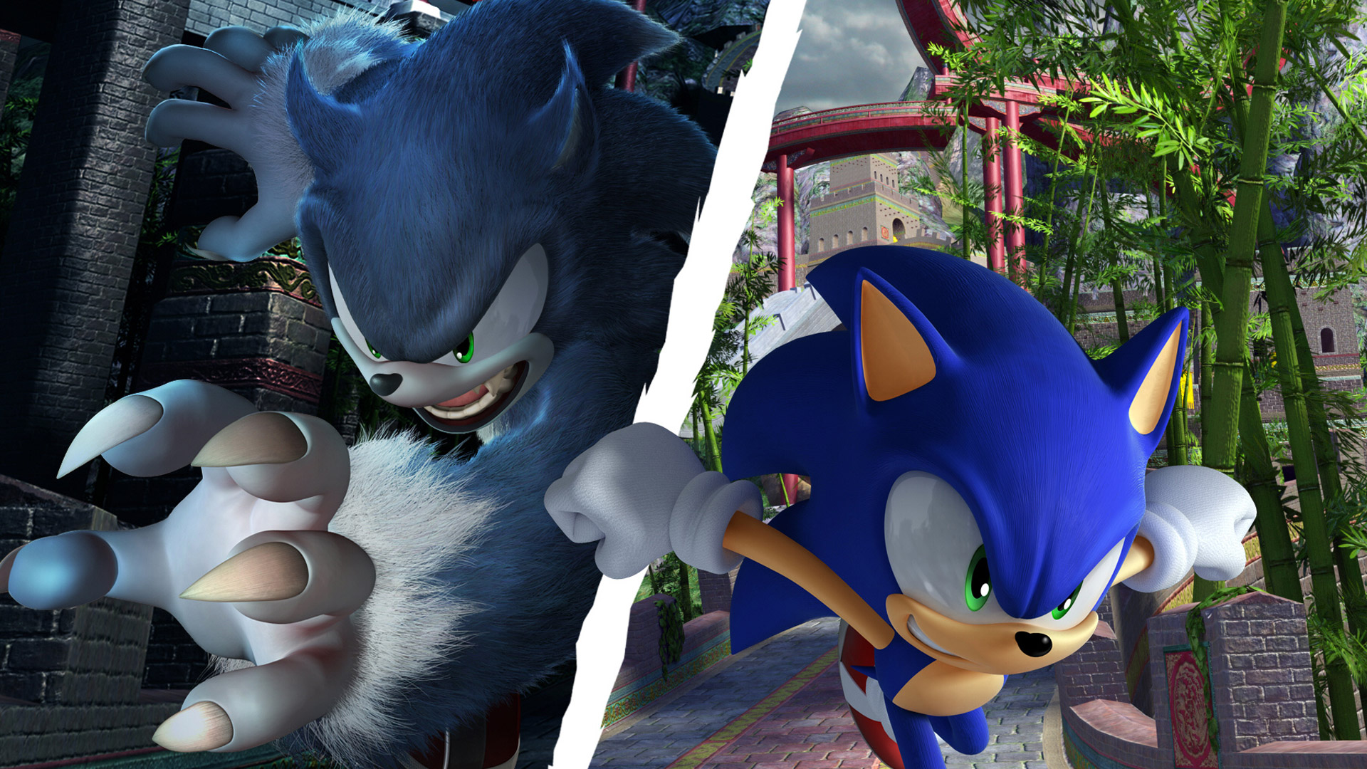 Sonic Unleashed Full Hd Wallpaper And Background Image