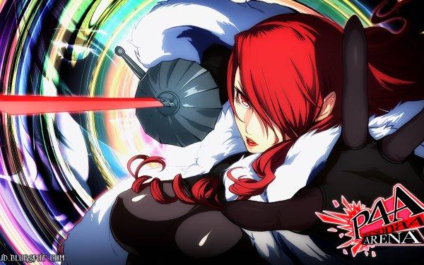Video Game Persona 4: Arena Persona Mitsuru Kirijo HD Wallpaper   Background Image