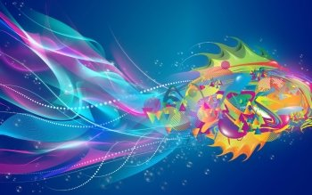 Abstract - Fish Wallpapers and Backgrounds ID : 457148