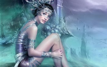 Fantasy - Women Wallpapers and Backgrounds ID : 457400