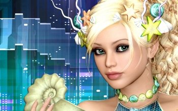 CGI - Women Wallpapers and Backgrounds