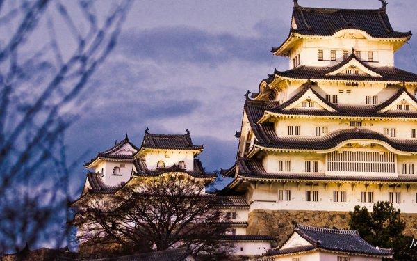 Man Made Himeji Castle Castles Japan HD Wallpaper   Background Image