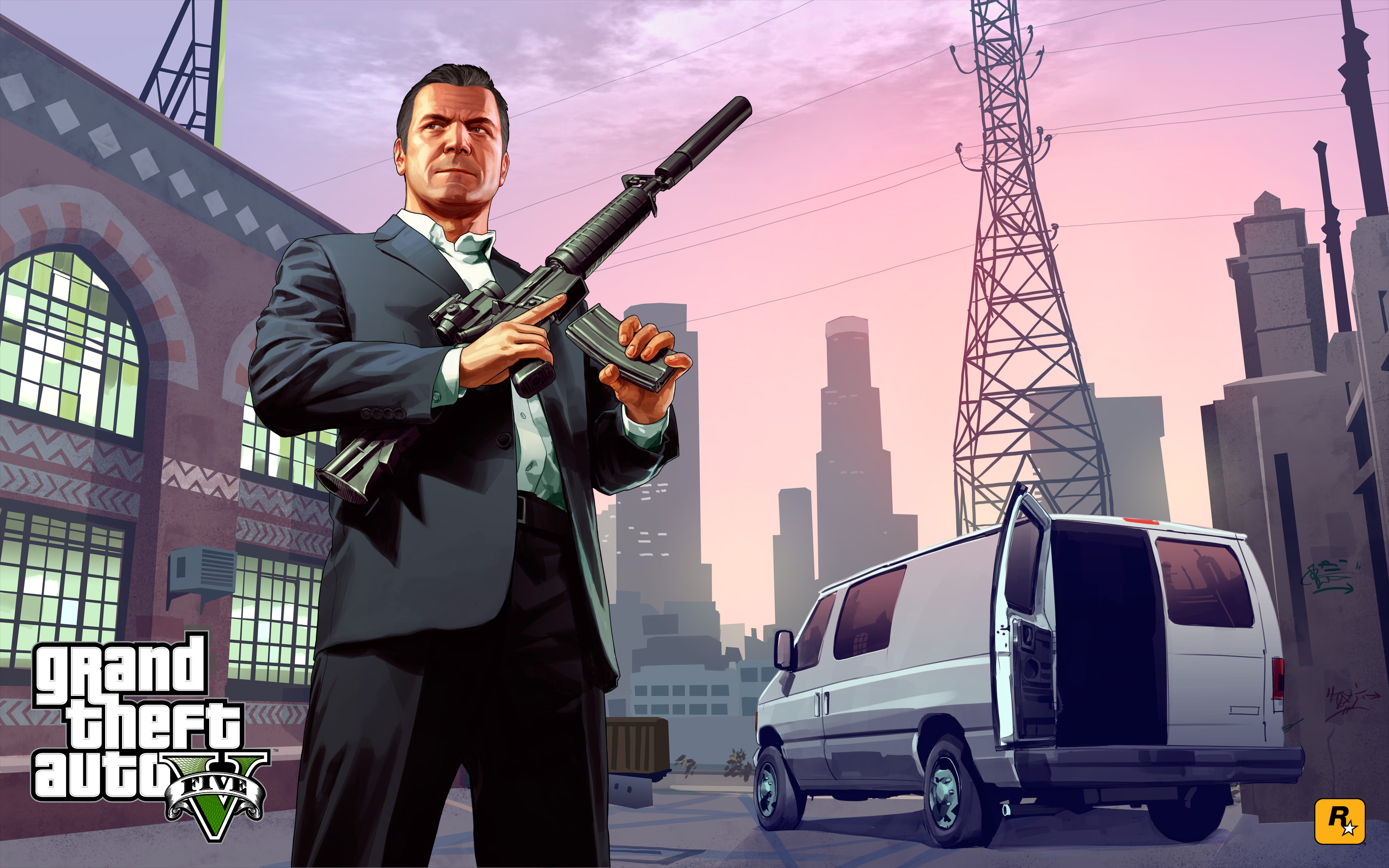 Grand Theft Auto 5 Wallpaper: Grand Theft Auto V Full HD Wallpaper And Background Image