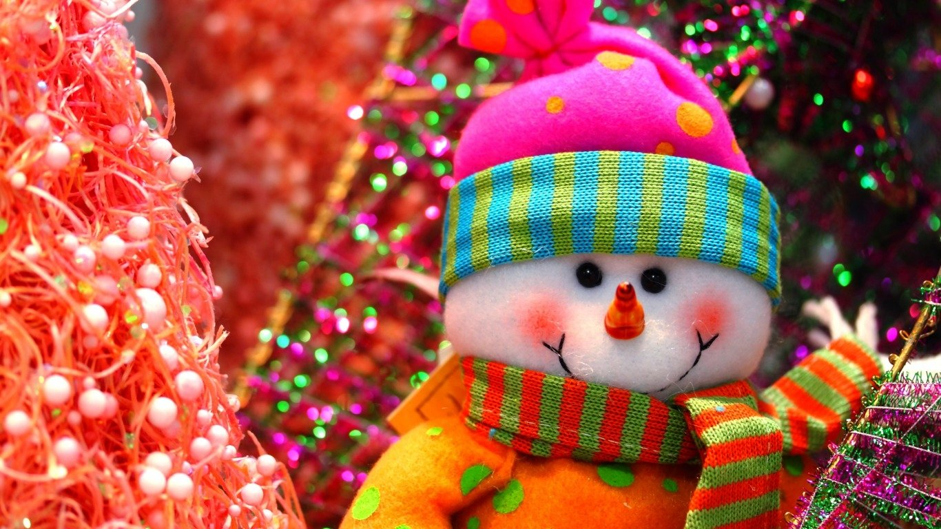 Holiday - Christmas  Snowman Wallpaper