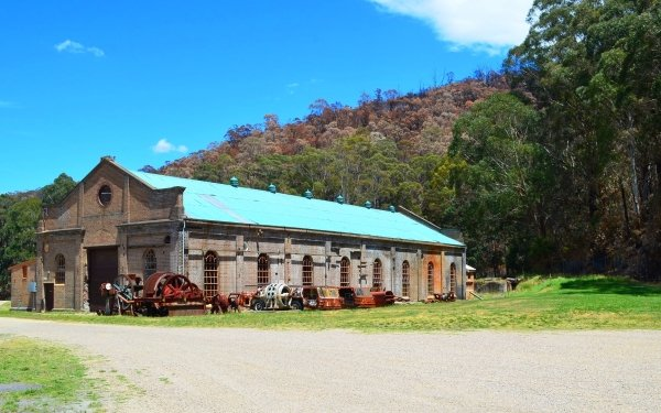 Man Made Museum Building Lithgow HD Wallpaper | Background Image