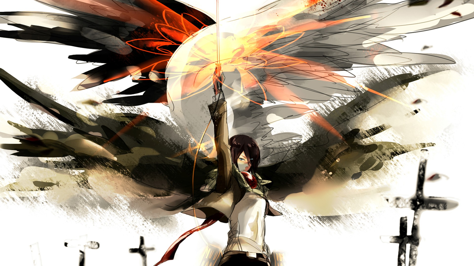 Mikasa Ackerman (Attack On Titan) HD Wallpaper