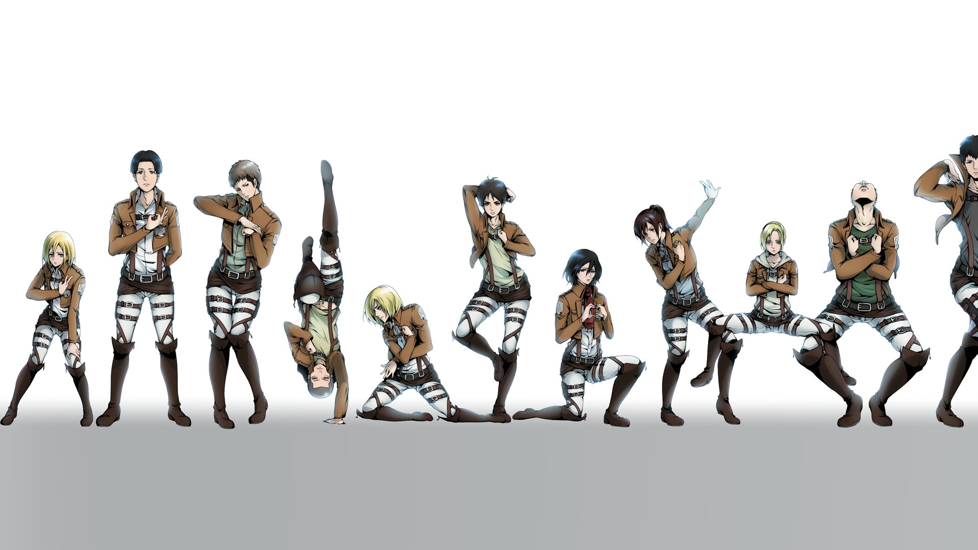 Attack On Titan Hd Wallpaper Background Image 1920x1080 Id 463604 Wallpaper Abyss