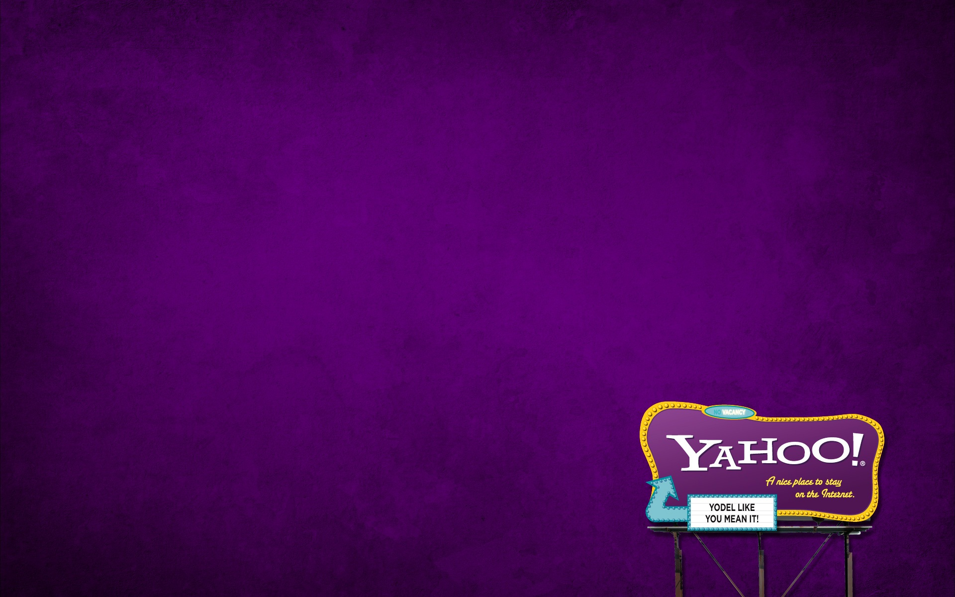 how to change yahoo background