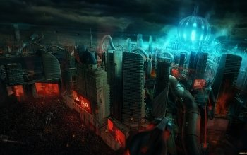 Sci Fi - City Wallpapers and Backgrounds ID : 463763
