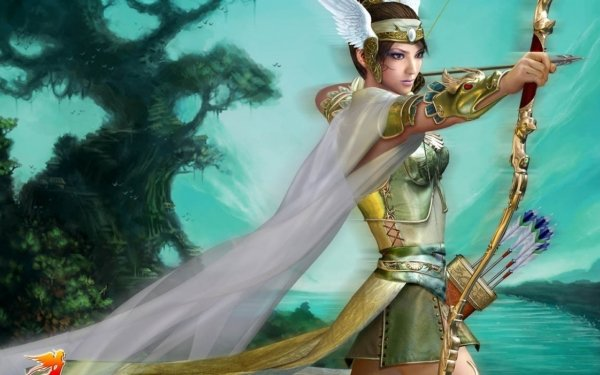 Video Game Perfect World Warrior HD Wallpaper   Background Image