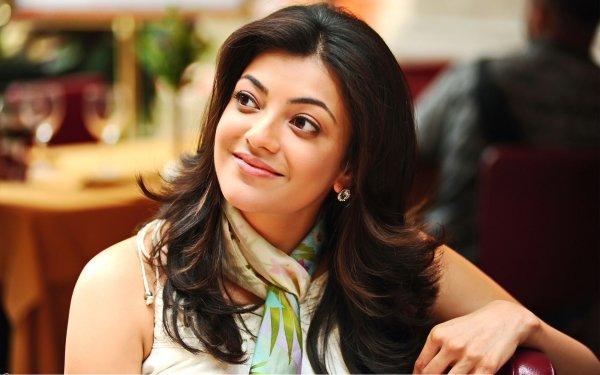 Kändis Kajal Aggarwal Skådespelerskor Indien Flicka Actress HD Wallpaper | Background Image