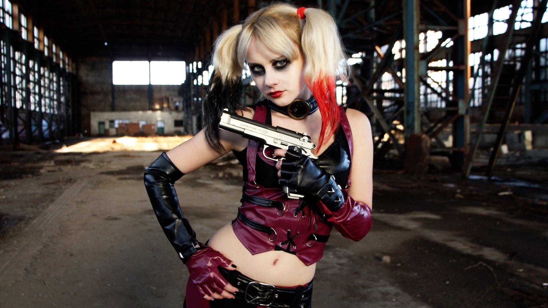 Cosplay Pubg Girl Hd Wallpaper: Harley Quinn 4k Ultra HD Wallpaper And Background Image