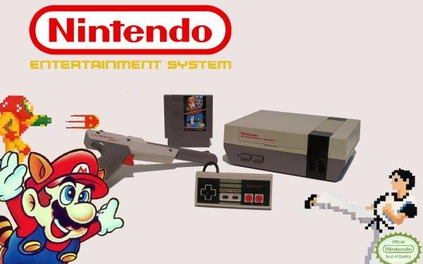 Videojuego NES Consolas Nintendo Fondo de pantalla HD | Fondo de Escritorio