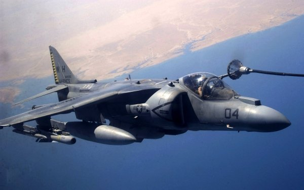 Military McDonnell Douglas AV-8B Harrier II Jet Fighters HD Wallpaper | Background Image