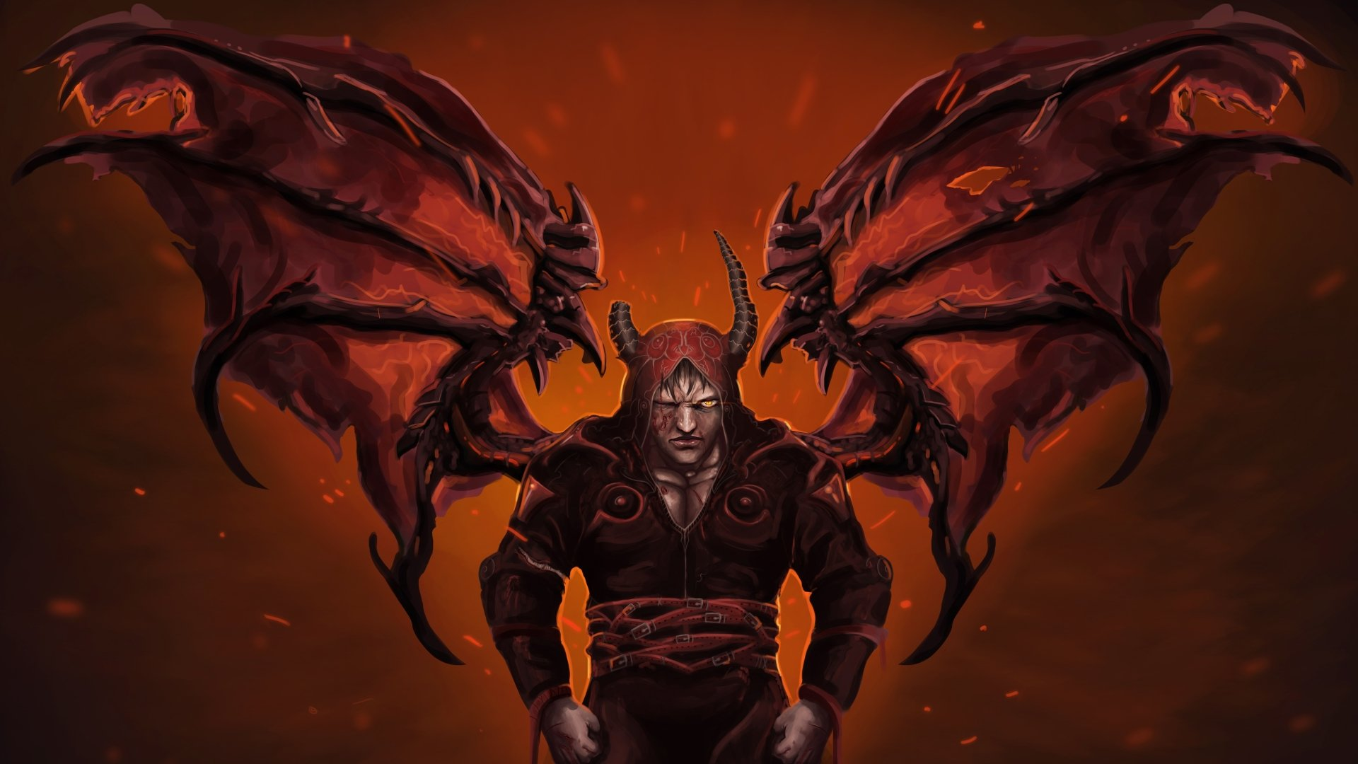 Demon 4k ultra hd wallpaper background image 4953x2786 - Demon wallpaper 4k ...