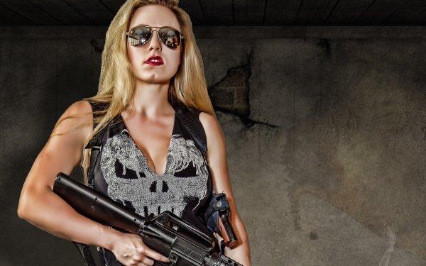 Femmes Cosplay Punisher Fond d'écran HD   Image