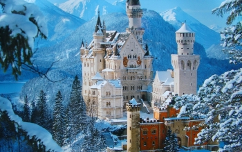 Man Made - Neuschwanstein Castle Wallpapers and Backgrounds ID : 467597