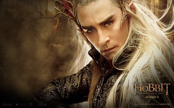 Movie The Hobbit: The Desolation of Smaug Thranduil Elf HD Wallpaper   Background Image