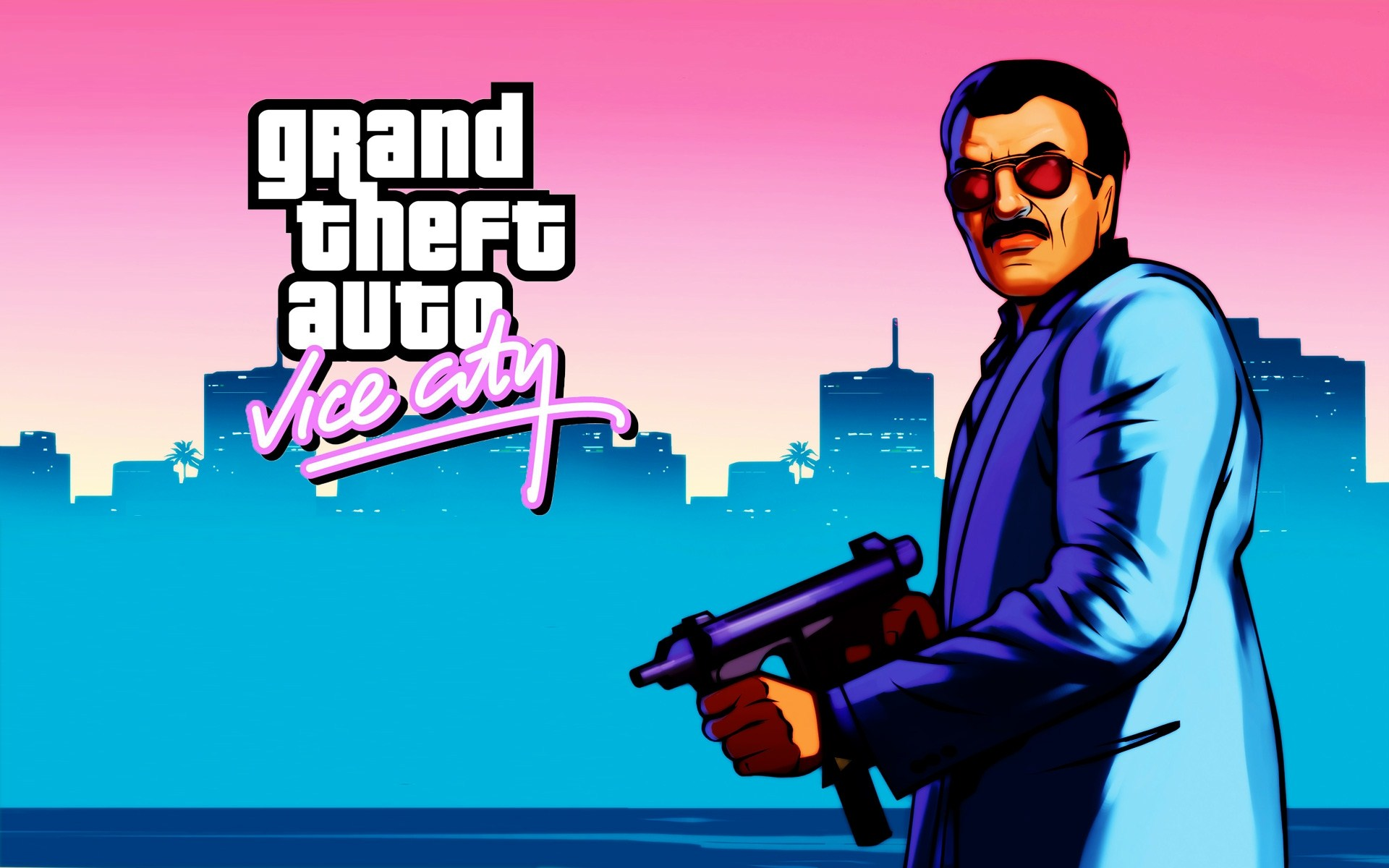 gtavicecity full hd wallpaper and background image
