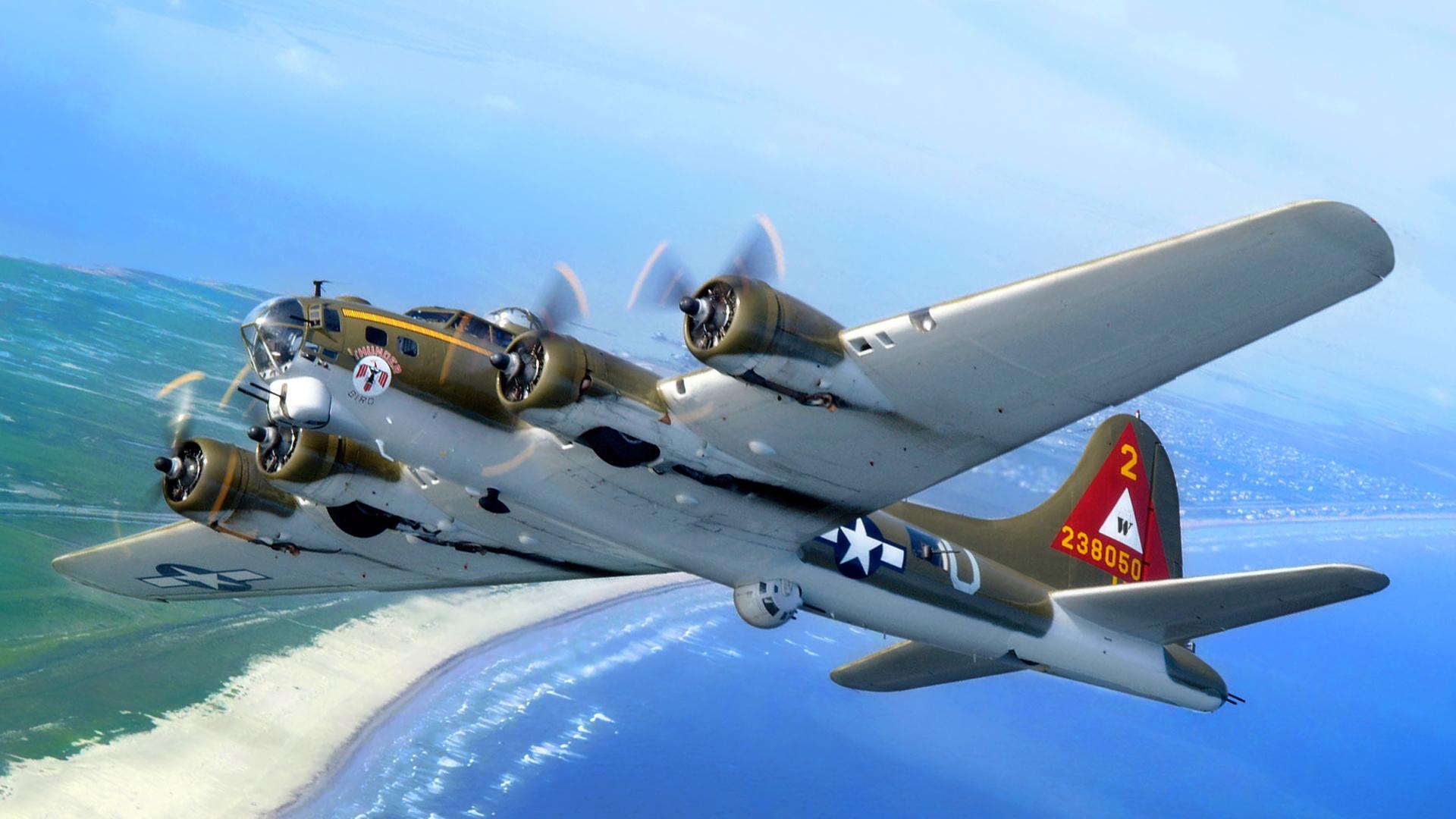 B 17 Flying Fortress Wallpaper Antique Aircraft HD Wa...