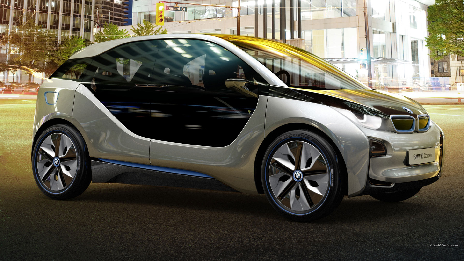 BMW i3 Concept HD Wallpaper   Background Image   1920x1080 ...