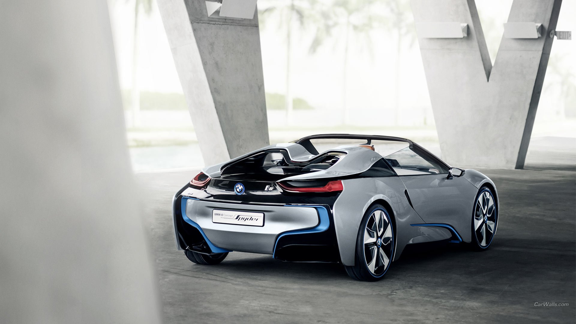HD Wallpaper | Background Image ID:471032. 1920x1080 Vehicles BMW I8  Concept Spyder