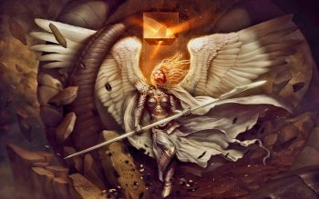 Fantasy - Angel Warrior Wallpapers and Backgrounds ID : 471112