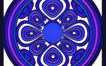Abstract - Fractal Mandala Wallpapers and Backgrounds ID : 471557
