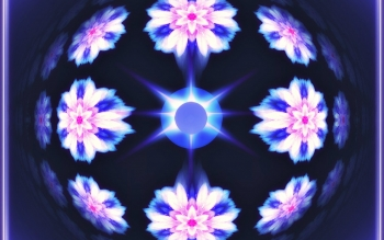 Abstrakt - Fractal Mandala Wallpapers and Backgrounds ID : 471991