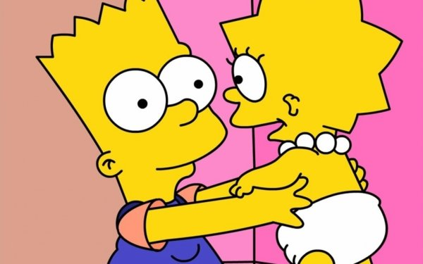 TV Show The Simpsons Bart Simpson Maggie Simpson HD Wallpaper | Background Image